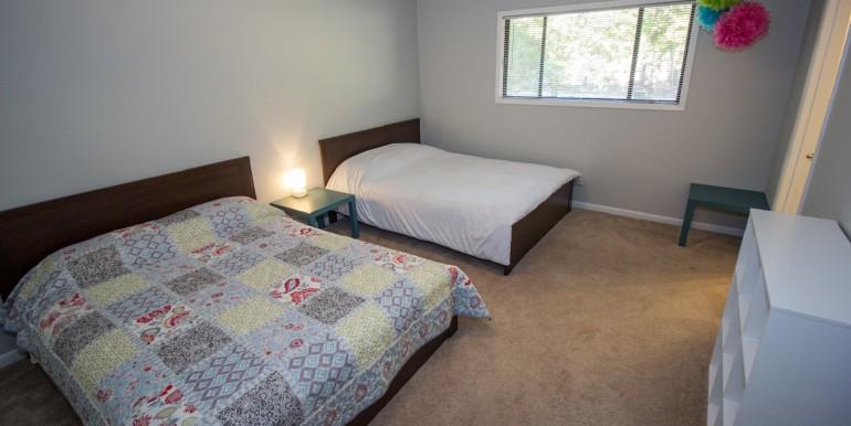 2. Double Queen Bedroom - Upper Level