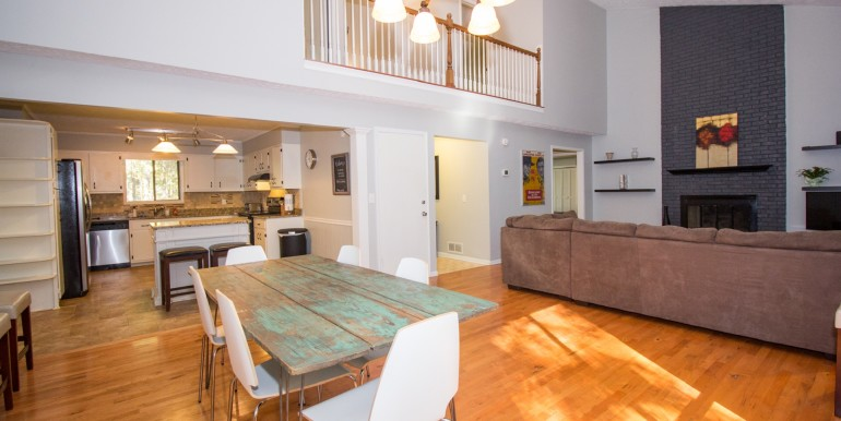 Dining Room Kitchen Living Room - Main Level