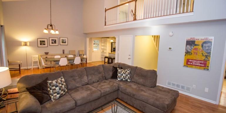 Living Room Dining Room - Main Level
