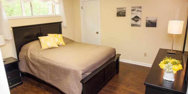 3. Queen Bedroom - Finished Basement